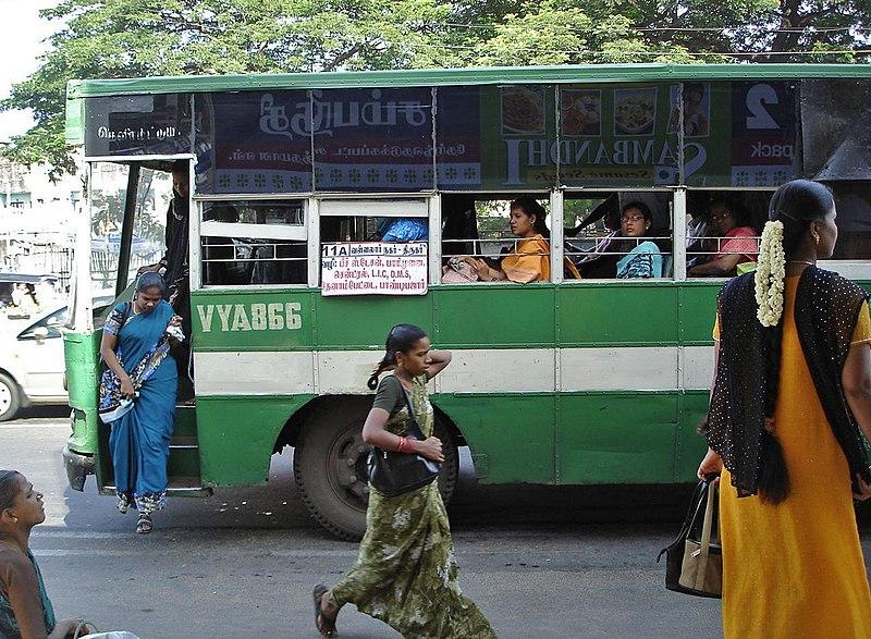 Image result for inside a pallavan bus
