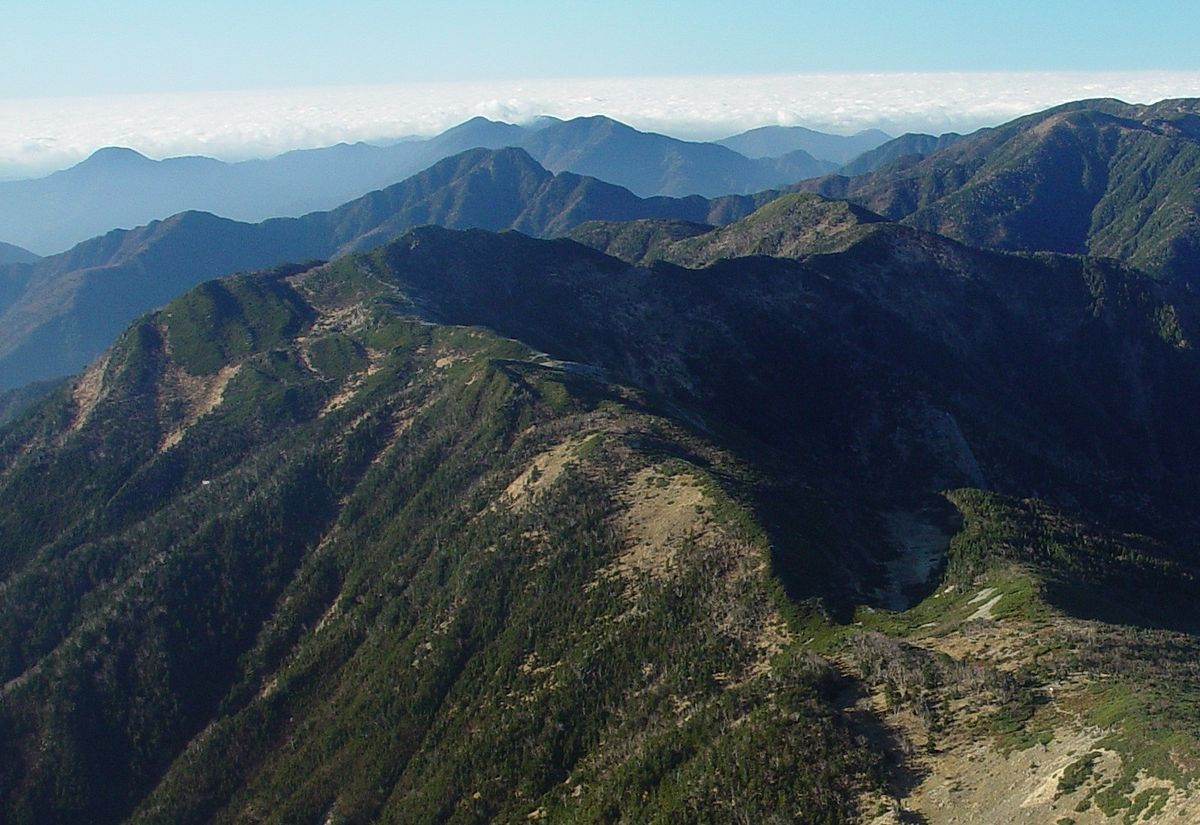 茶臼岳 (赤石山脈) - Wikipedia