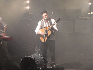 Mumford & Sons, seen during a liver performanc...