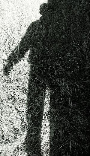 English: Shadow Deutsch: Mein Schatten