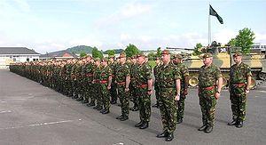 Last photo of the 1st Battalion, The Duke of W...