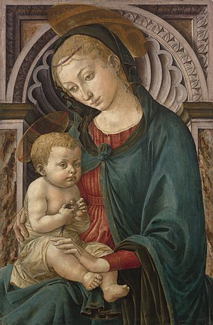 English: Pesellino. Madonna and Child with a S...
