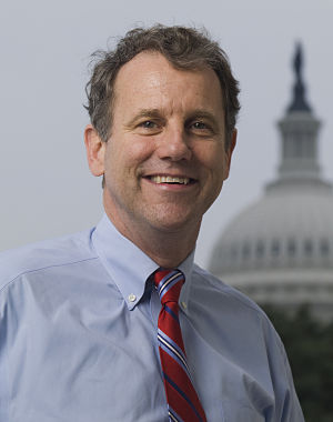 Official photo of Senator Sherrod Brown (D-OH).