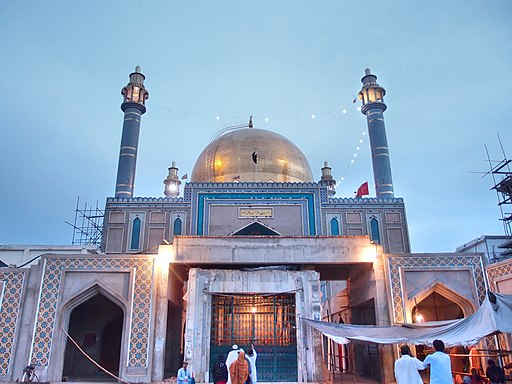 Shrine of Lal Shahbaz Qalandar view5