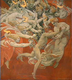 Orestes Pursued by the Furies, by John Singer ...