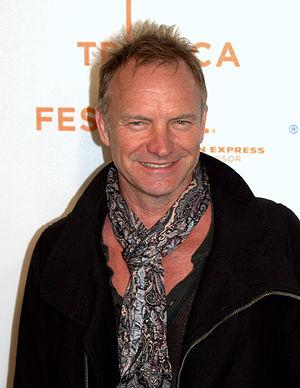 English: Sting at the 2009 Tribeca Film Festiv...