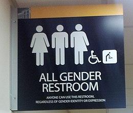 german bathroom door signs Unisex public toilet - Wikipedia