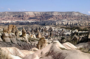 Cappadocia in April 2006