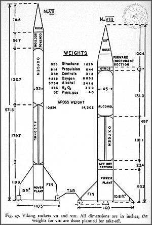 Viking 7 Sounding Rocket.