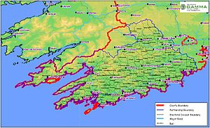 West Cork Map