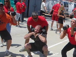 July 2007 CrossFit Trainer certification, Sant...