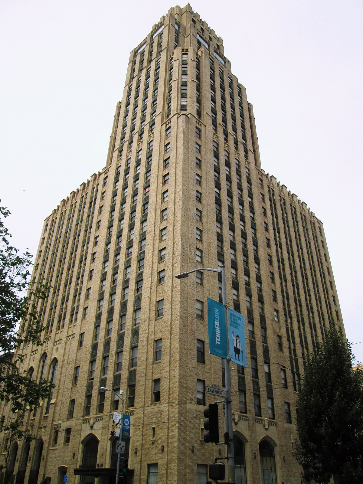McAllister Tower Apartments  Wikipedia