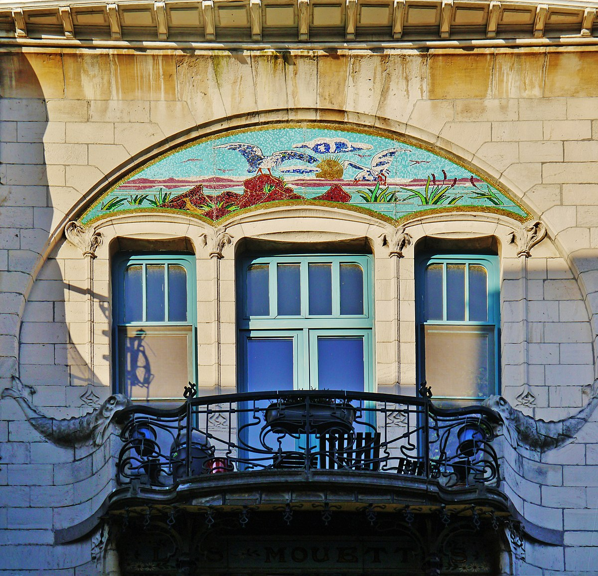 Art Nouveau In Antwerp Wikipedia