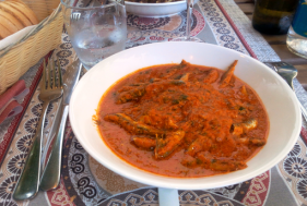 historia y diversidad de la cocina de Liguria: bagnun