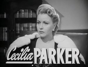 Cropped screenshot of Cecilia Parker from the ...