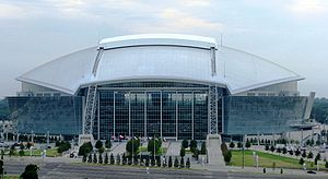 """This is a picture of """"Cowboys Stadium&quo..."""