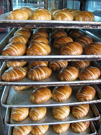 Español: Croissant en Colombia