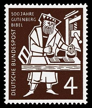 500 jears of the Gutenberg-Bible