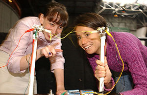 English: Teachers from the Exploratorium's Tea...