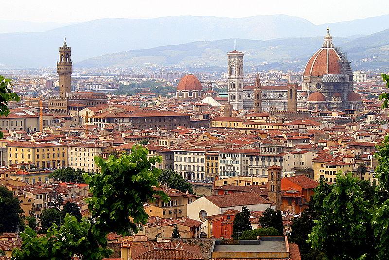 Photo: Florence, Italy skyline