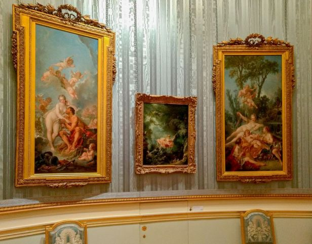 Fragonard, The Swing, Wallace Collection in situ