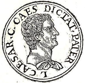 English: Gaius Julius Caesar (proconsul of Asi...