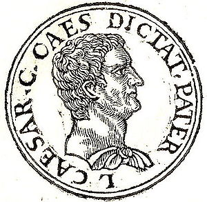 English: Gaius Julius Caesar (proconsul of Asi...