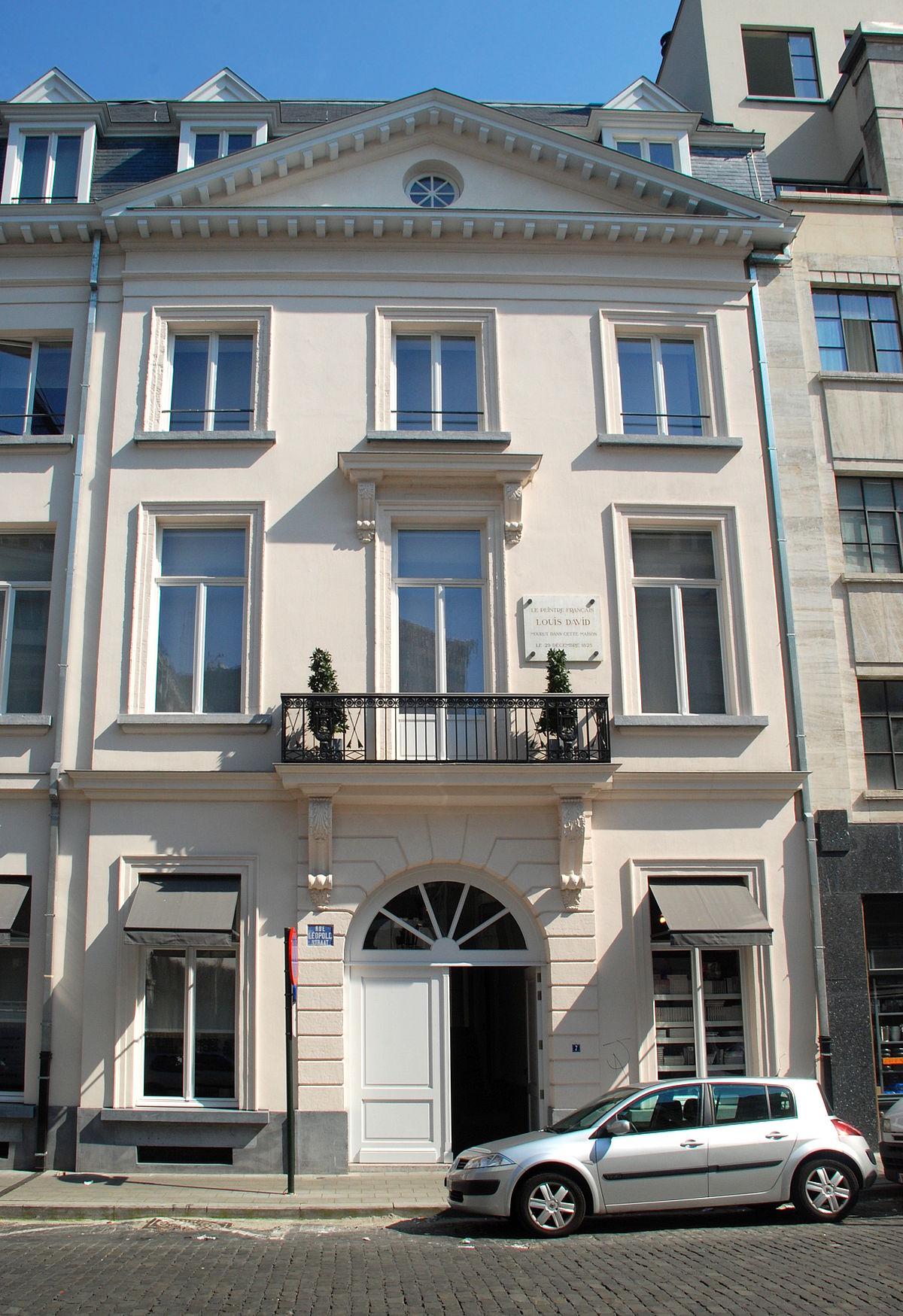 Maison de JacquesLouis David  Wikipdia