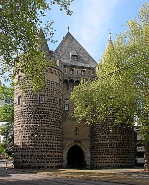 English: Neuss, Germany. Obertor, last preserv...
