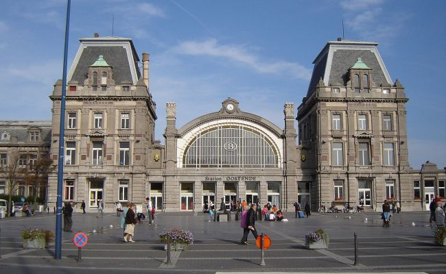 Oostende Railway Station Wikipedia