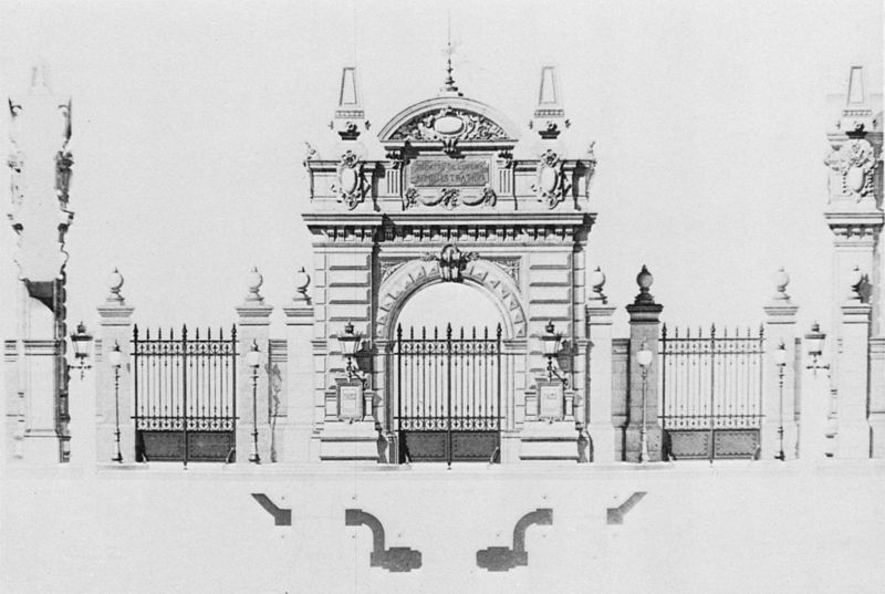 Fichier:Palais Garnier elevation of the administration
