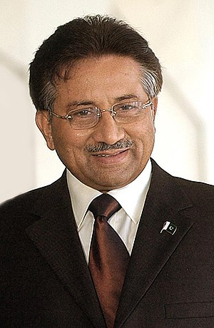 English: Pakistan president Pervez Musharraf. ...