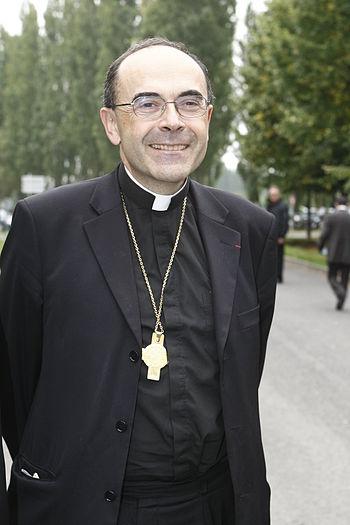 Français : Cardinal Philippe Barbarin, Archevê...