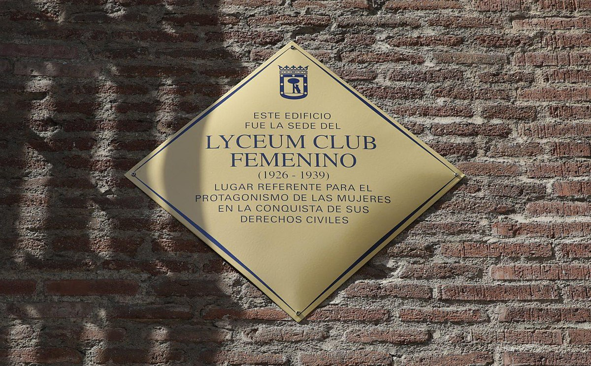 Lyceum Club Femenino Wikipedia La Enciclopedia Libre