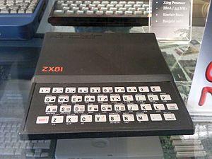 Deutsch: Sinclair ZX-81