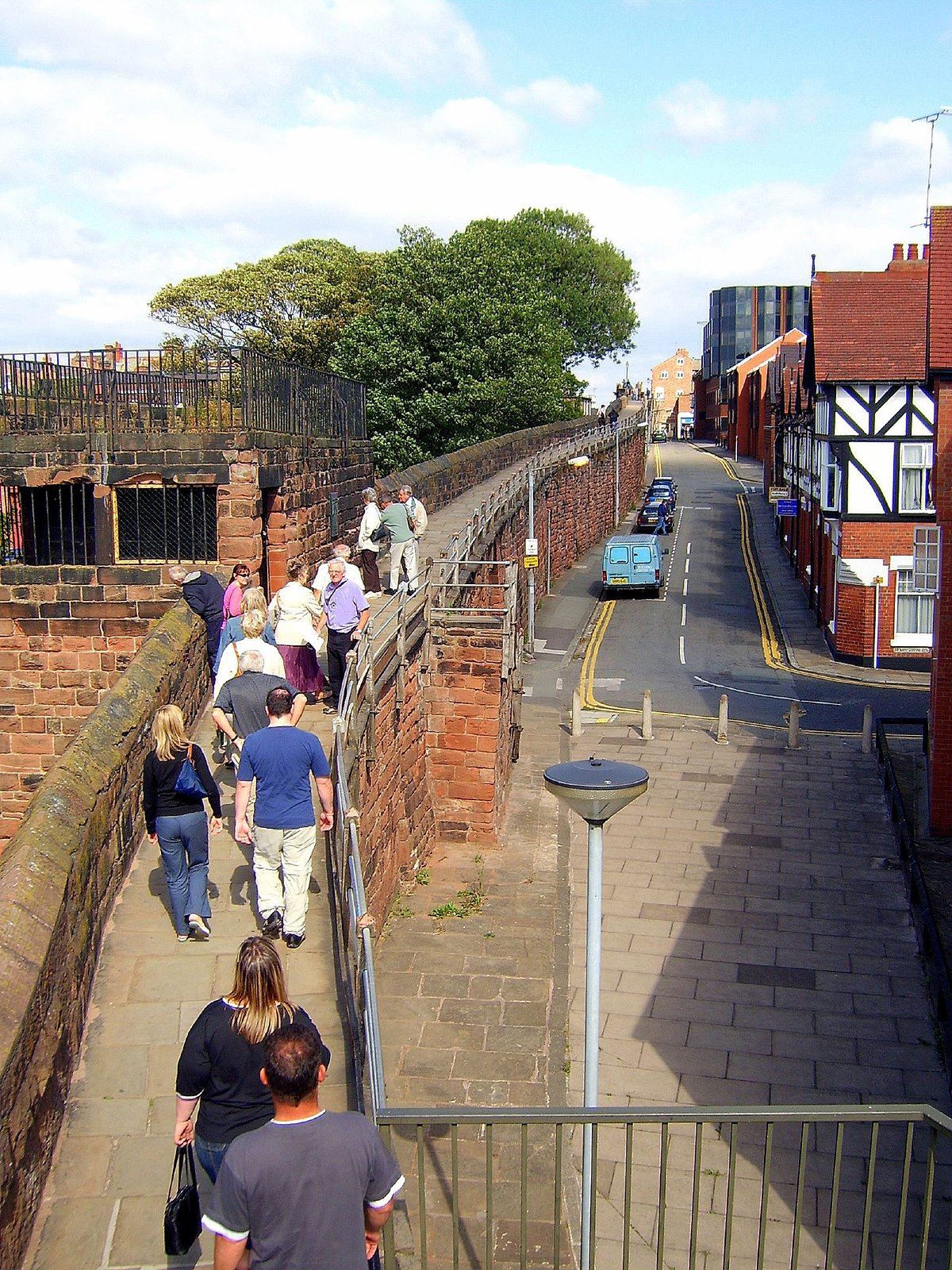 Chester City Walls Simple English Wikipedia The Free