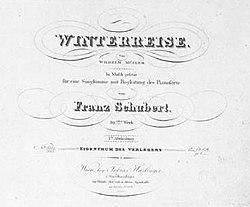 Winterreise — Wikipédia
