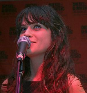 Zooey Deschanel ( cropped version )