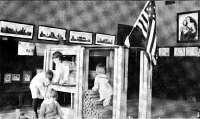 The Encyclopedia Americana 1920Kindergarten The
