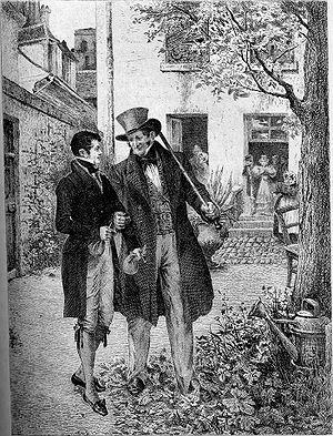 Title page of Honoré de Balzac's Old Goriot (1...