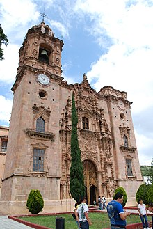 La Valenciana Church San Cayetano  Wikipedia