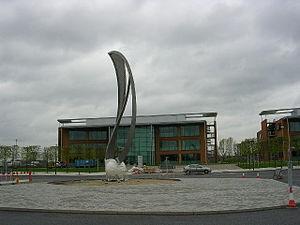 English: Central Business Park, Monsall, Manch...