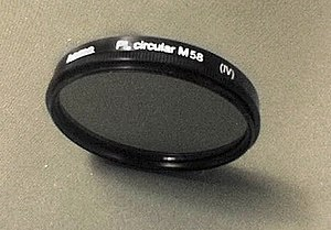 English: circular polarizing photographic filt...