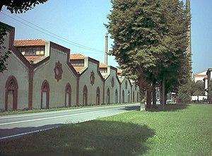 The Crespi factory, Crespi d'Adda (Bergamo), L...