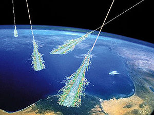 English: It is now known that most cosmic rays...