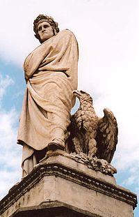 Estatua de Dante en Florencia