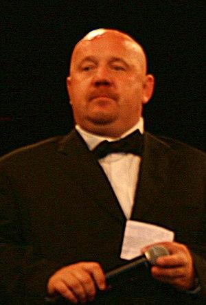 Davor Dretar, voditelj prije borbe Akrap-Čirkov