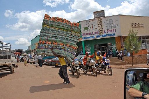 Downtown Kigali - Flickr - Dave Proffer