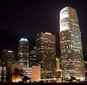 Figueroa Street in Downtown LA's Financial Dis...