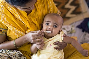 Annaprasana, getting the first solid food (cer...